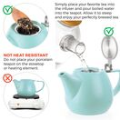 Jove Porcelain Teapot 34oz