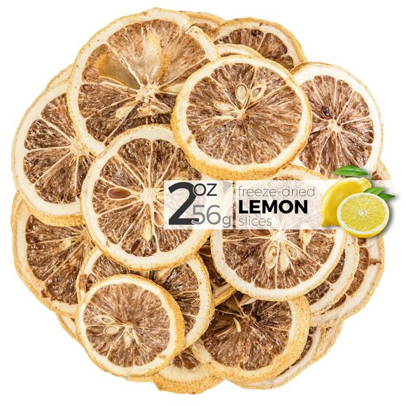 Lemon Freeze Dried