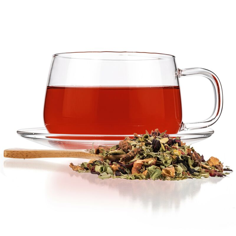 Buy Pink Berry Moringa Tea
