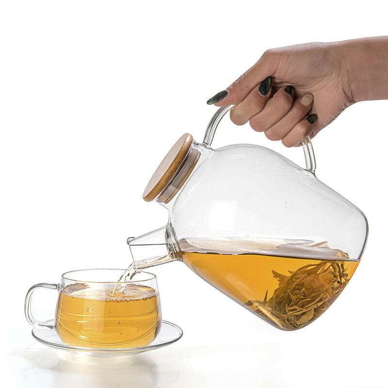 Glass Teapot & Kettle 60oz
