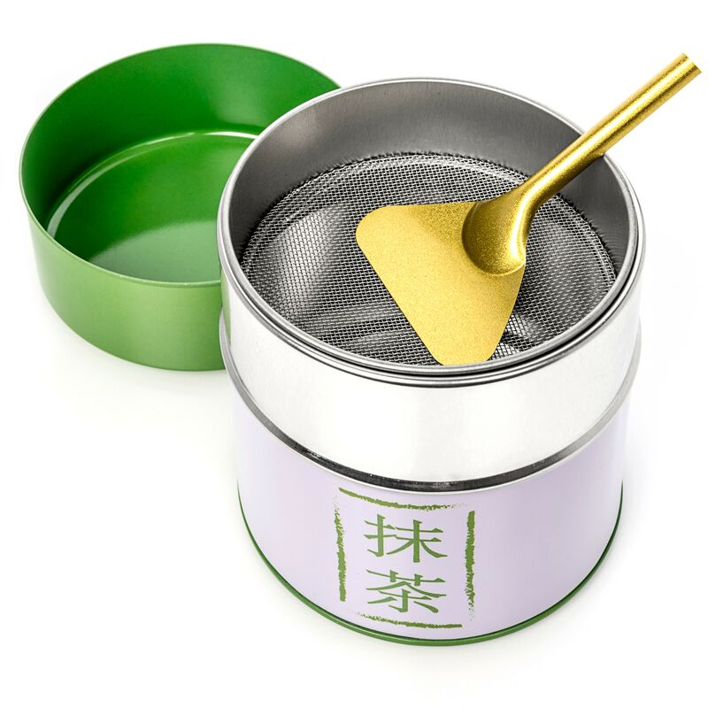 Matcha Tin with Mesh